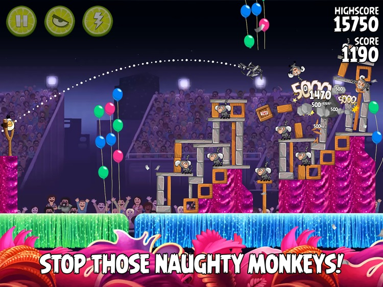 Angry Birds Rio HD screenshot-1