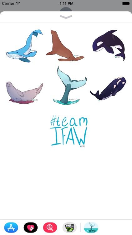 IFAWmojis Marine Mammals screenshot-3