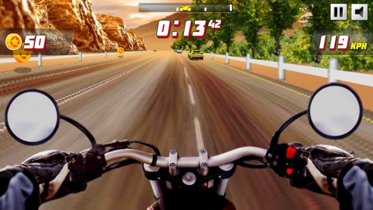 火爆摩托车 - 真实赛车游戏之摩托飞车