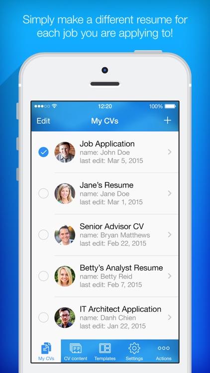 Resume Builder - Resume Maker