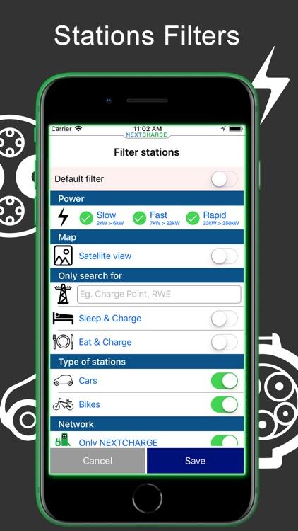 NEXTCHARGE - Charging Stations screenshot-4