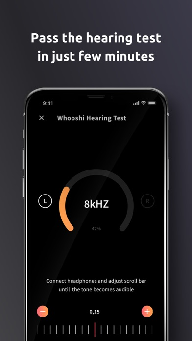 WHOOSHI Personal Audio Player screenshot three