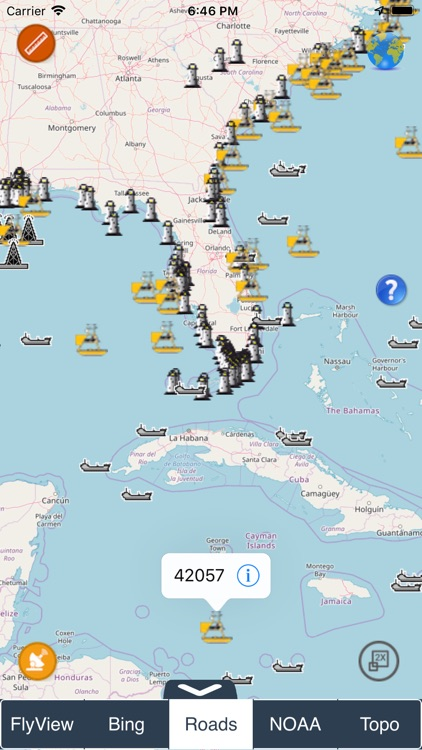 NOAA Buoys - Charts & Weather screenshot-9