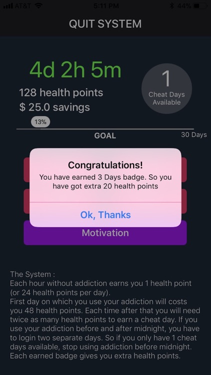 Quit Drinking & Smoking System screenshot-4