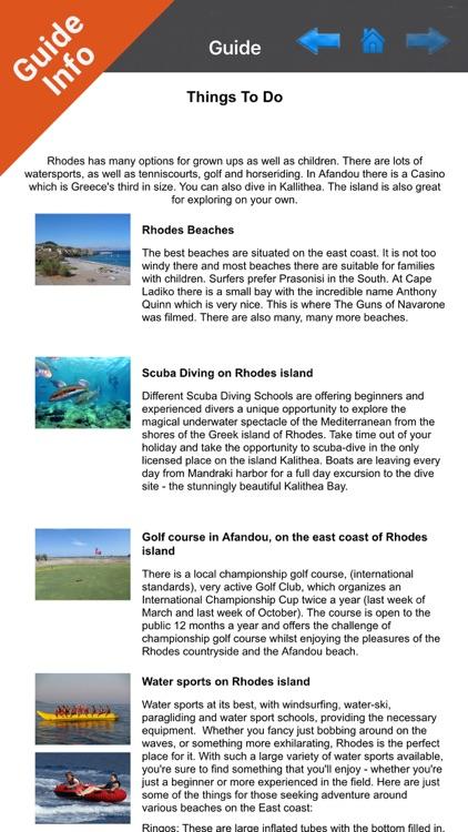 Rhodes - GR Island - GPS Chart screenshot-3