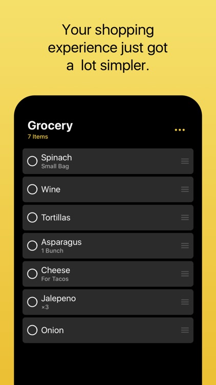 Grocery - Smart Grocery List screenshot-0