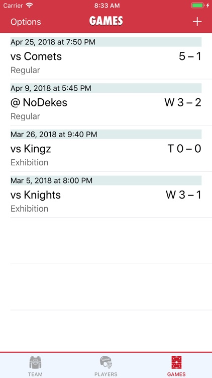 Goaliath Hockey Stats Tracker screenshot-5