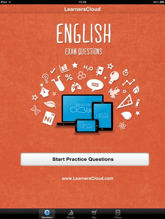 GCSE English: Questions
