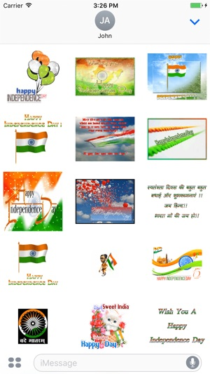 Animated 15 August Independence Day Gif Stickers On The App Store