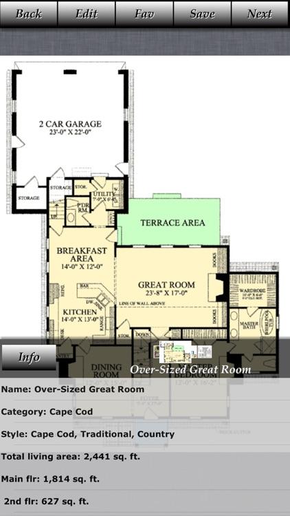 Cape Cod - Family House Plans