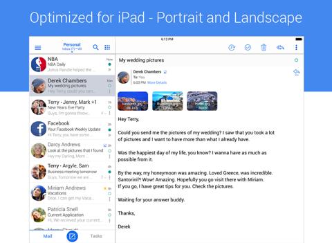 Screenshot #4 pour Blue Mail - Email Mailbox