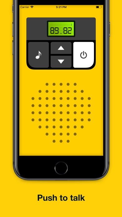 Walkie-talkie - COMMUNICATION screenshot 3