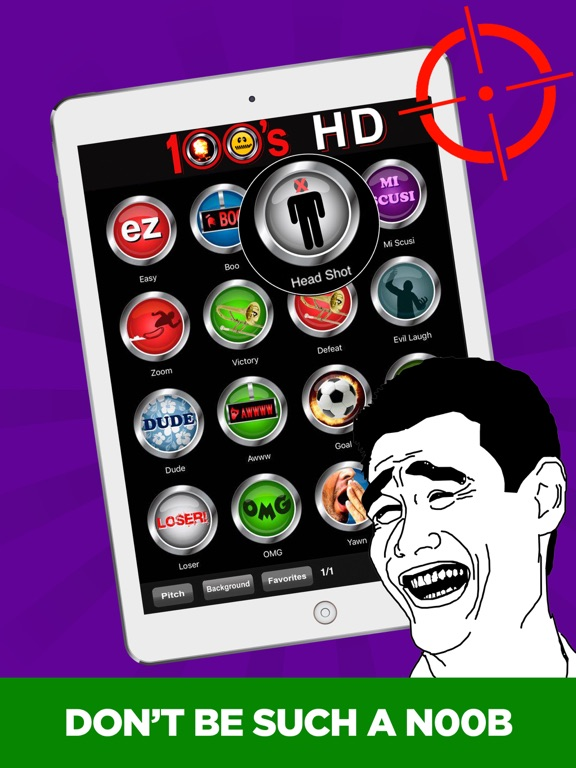 100 Buttons and Sound Effects   App Price Drops