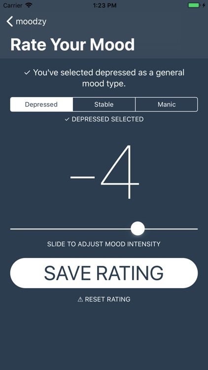 Moodzy Bipolar Mood Tracker screenshot-4