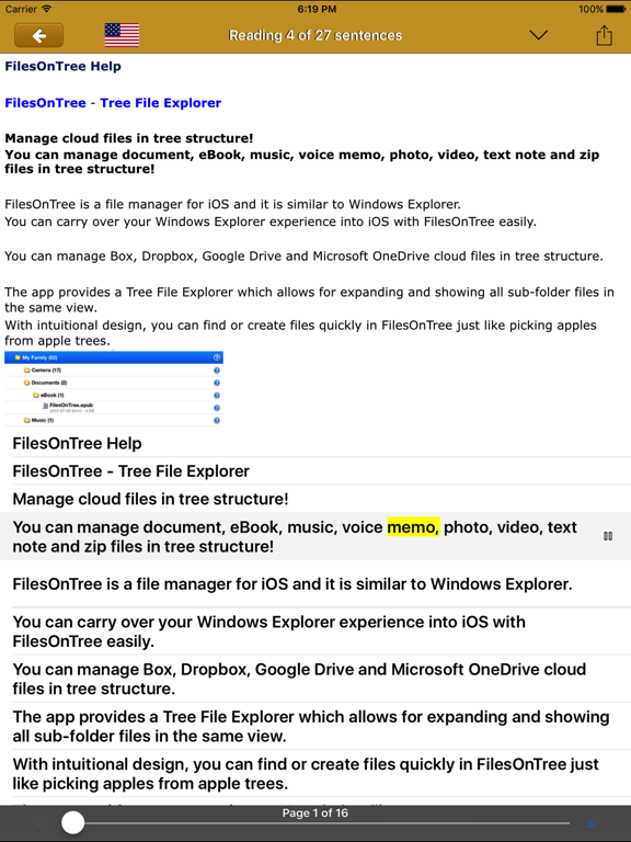 Screenshot #5 pour FilesOnTree - Tree File Explorer