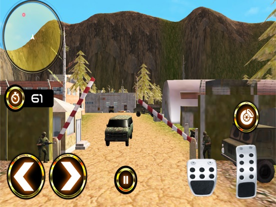 Army Criminal Transport Van 3D Скриншоты9