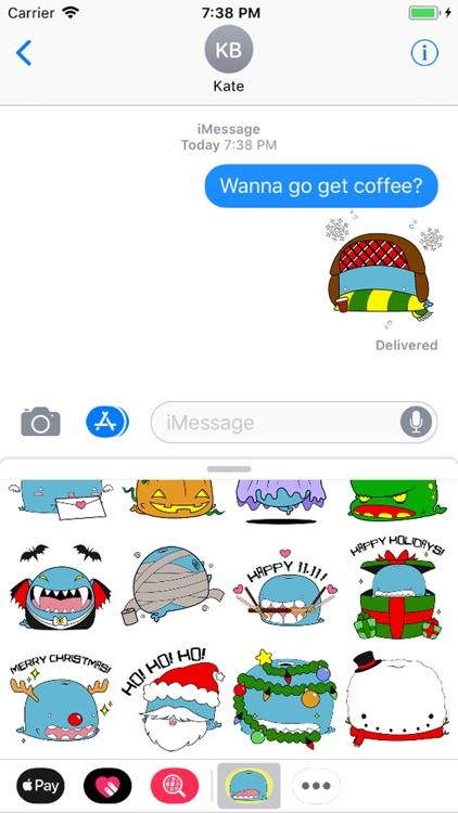 Goch the Whale Stickers screenshot-3