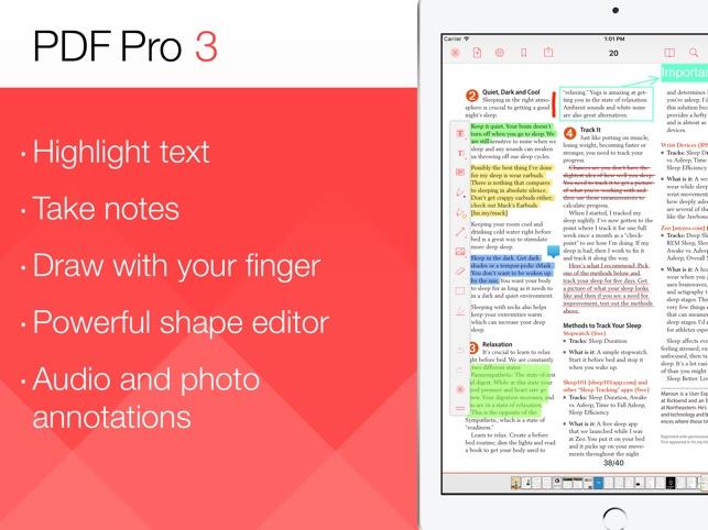 PDF Pro 3 Screenshot