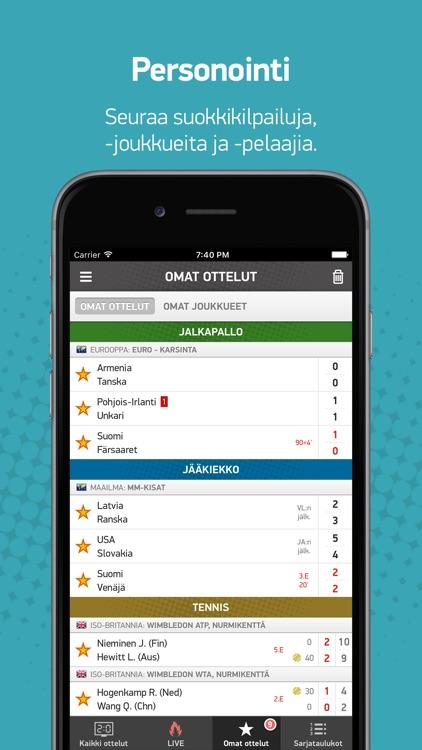 LiveTulokset.com screenshot-3