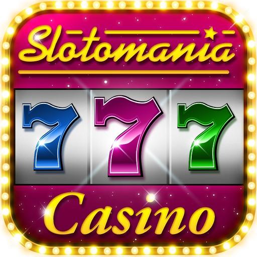 Slotomania Slots Casino: Vegas Slot Machines Games app logo