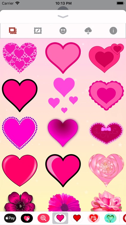 Pink Love • Emoji and stickers