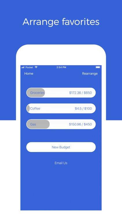 Pocket: Track Daily Spending