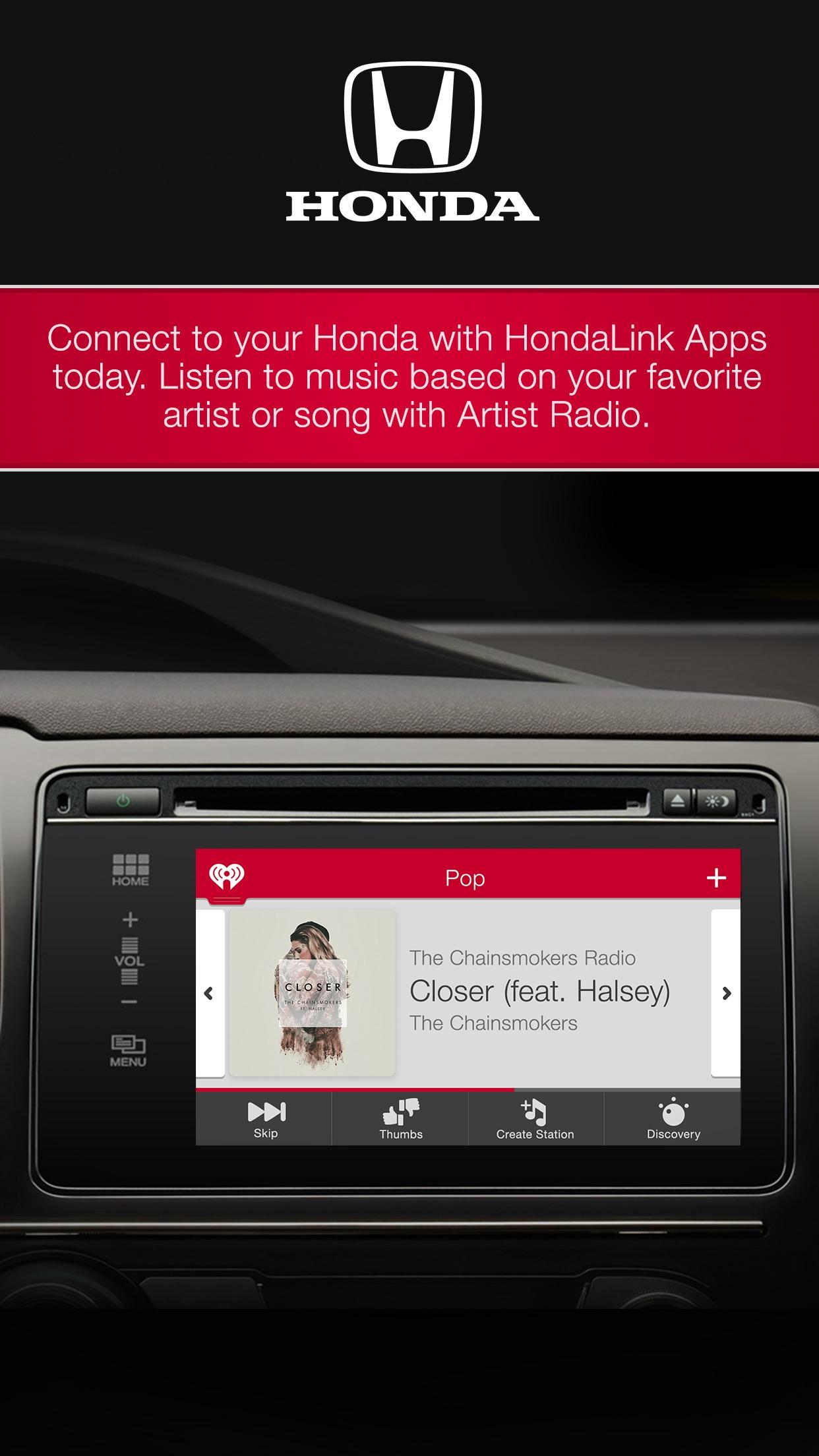 iHeartRadio for Auto Screenshot