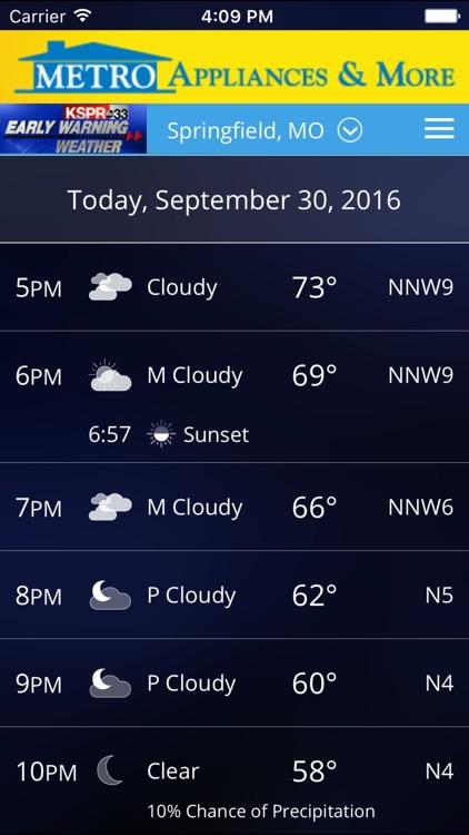KSPR Weather screenshot-3