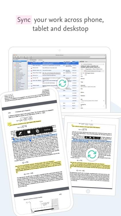 Mendeley (PDF Reader) screenshot-5