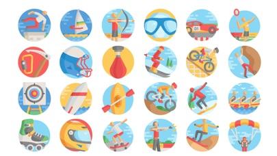 点击获取Extreme Sports Stickers.