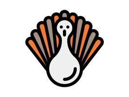 Show thanks with these festive Thanksgiving stickers