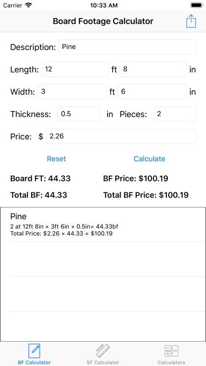 Footage Calculator screenshot-4