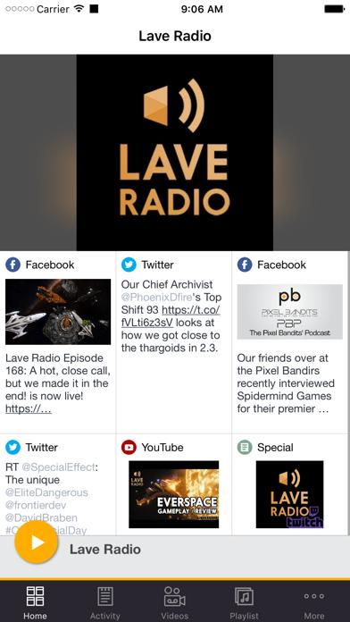 Lave Radio screenshot one
