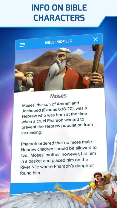 Screenshot for Superbook Kids Bible in United States App Store