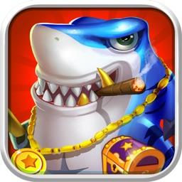 捕鱼游戏厅-疯狂捕鱼的捕鱼机游戏