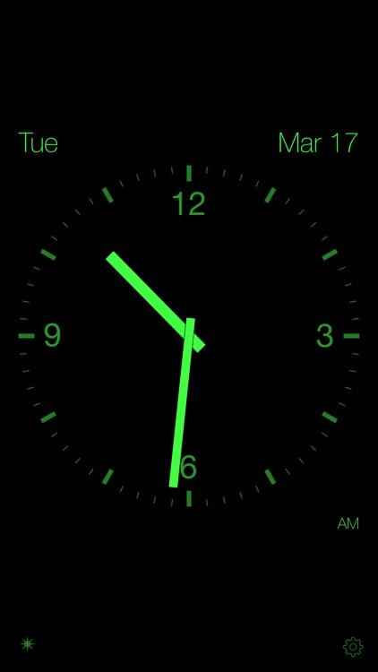 Disappearing Bedside Clock screenshot-0