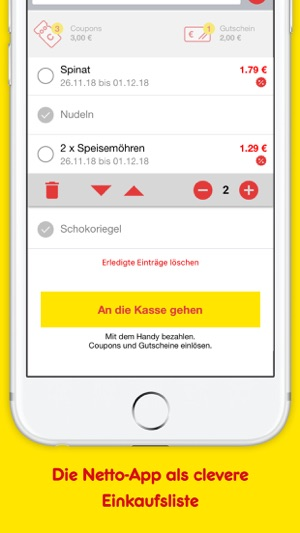 Netto Angebote Coupons Im App Store