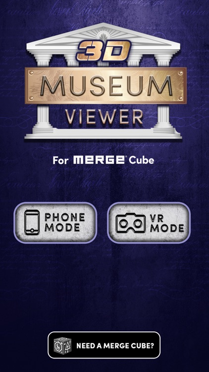 3D Museum Viewer / MERGE Cube