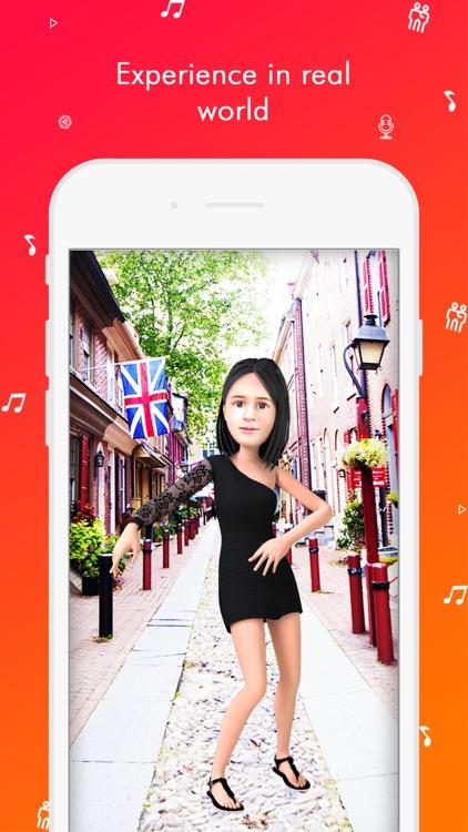 TaDa Time - 3D AR Messenger screenshot-3
