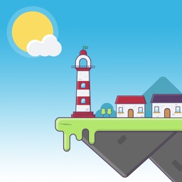 Lighthouse 2D : weather island