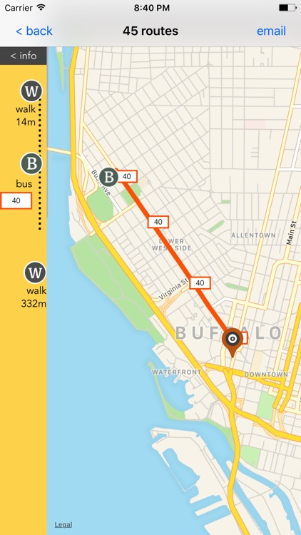 Buffalo Travel - Public Transport Guide screenshot-3
