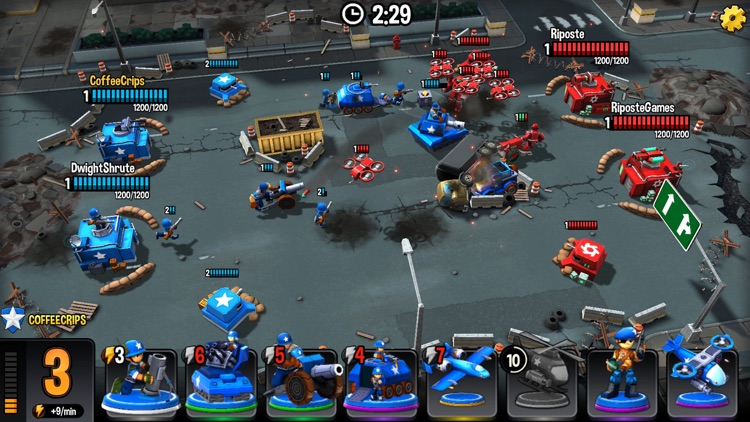 Mini Guns - Omega Wars screenshot-5