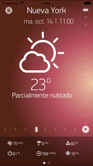Screenshot for Weather Book El tiempo in Peru App Store
