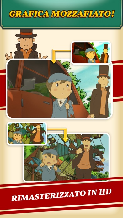 Screenshot for Layton: il paese dei misteri in Italy App Store