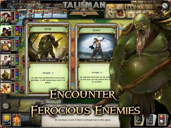 Screenshot #3 for Talisman: Digital Edition