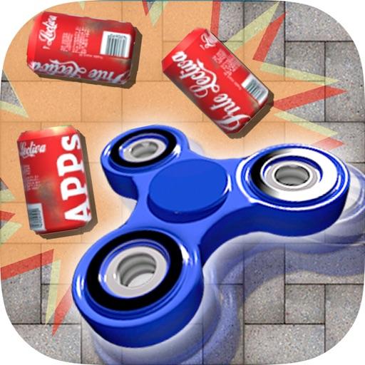 ハンドスピナー -  3D投げゲーム