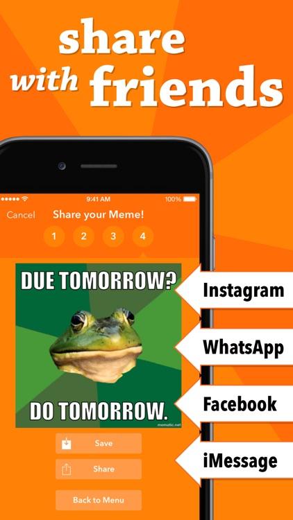 Mematic - The Meme Maker screenshot-4