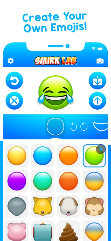 Smirk Lab - Emoji Maker - Online Game Hack and Cheat