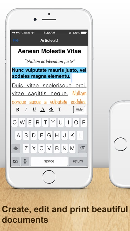 Documents Pro : Office Editor for iPhone & iPad