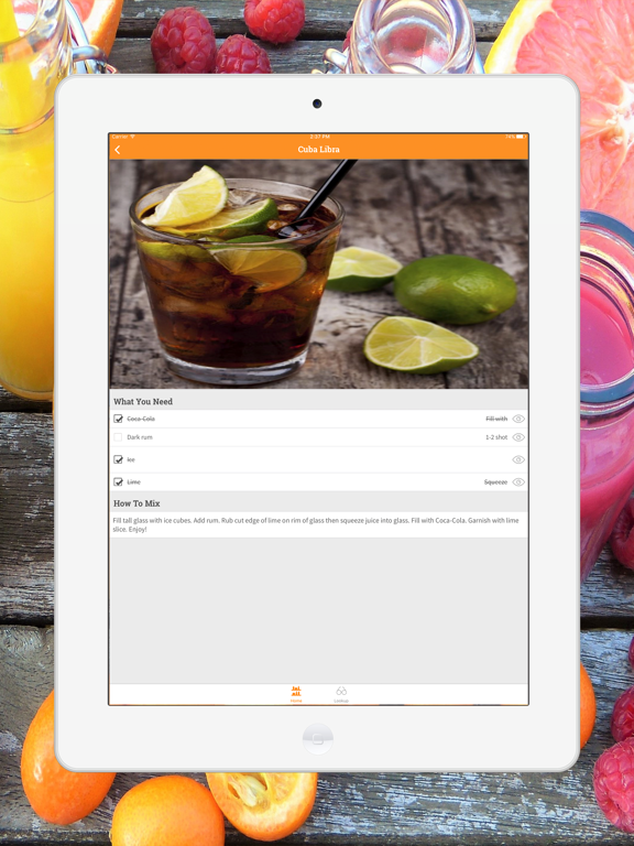 Mix Drink, Cocktail & Smoothie-ipad-2